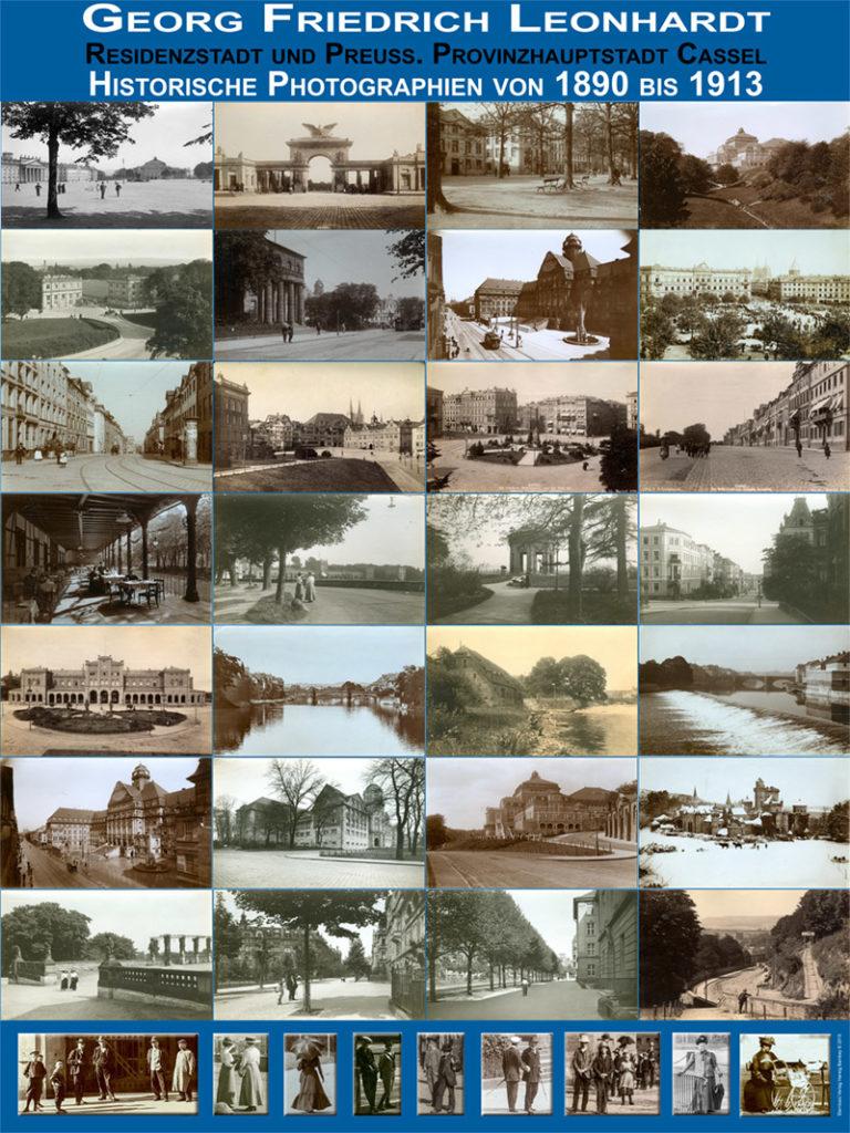 Übersichtsplakat mit Fotgrafien von Georg Friedrich Leonhardt. Copyright Hartwig Bambey 2019
